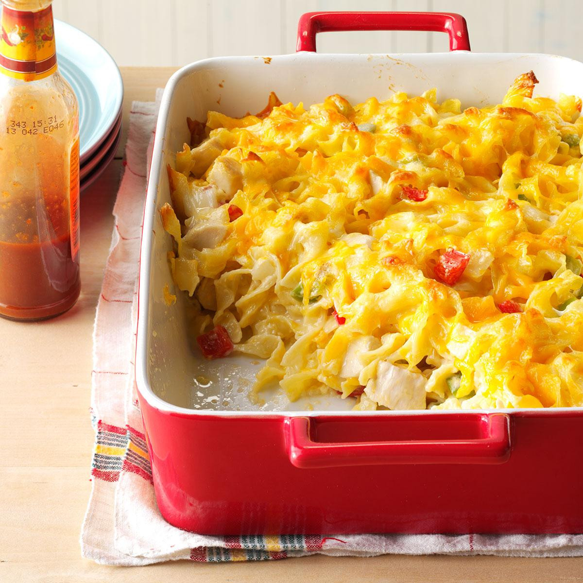 Chicken And Noodles Casserole  Chicken Noodle Casserole Recipe