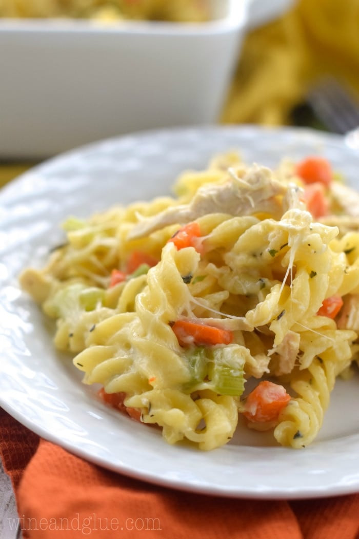 Chicken And Noodles Casserole  Chicken Noodle Soup Casserole Recipe