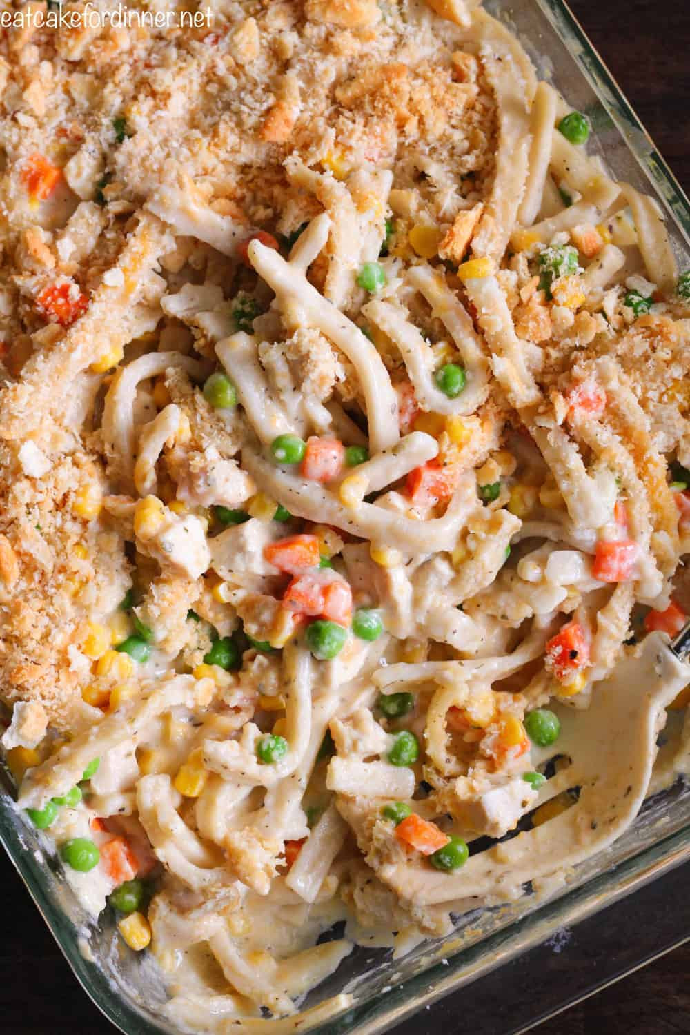 Chicken And Noodles Casserole  Creamy Chicken Noodle Casserole