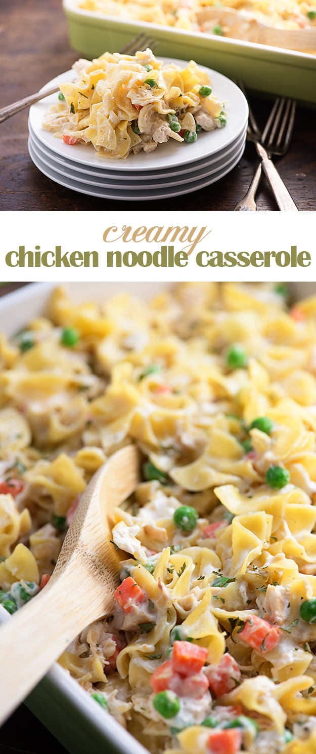 Chicken And Noodles Casserole  Chicken Noodle Casserole — Buns In My Oven