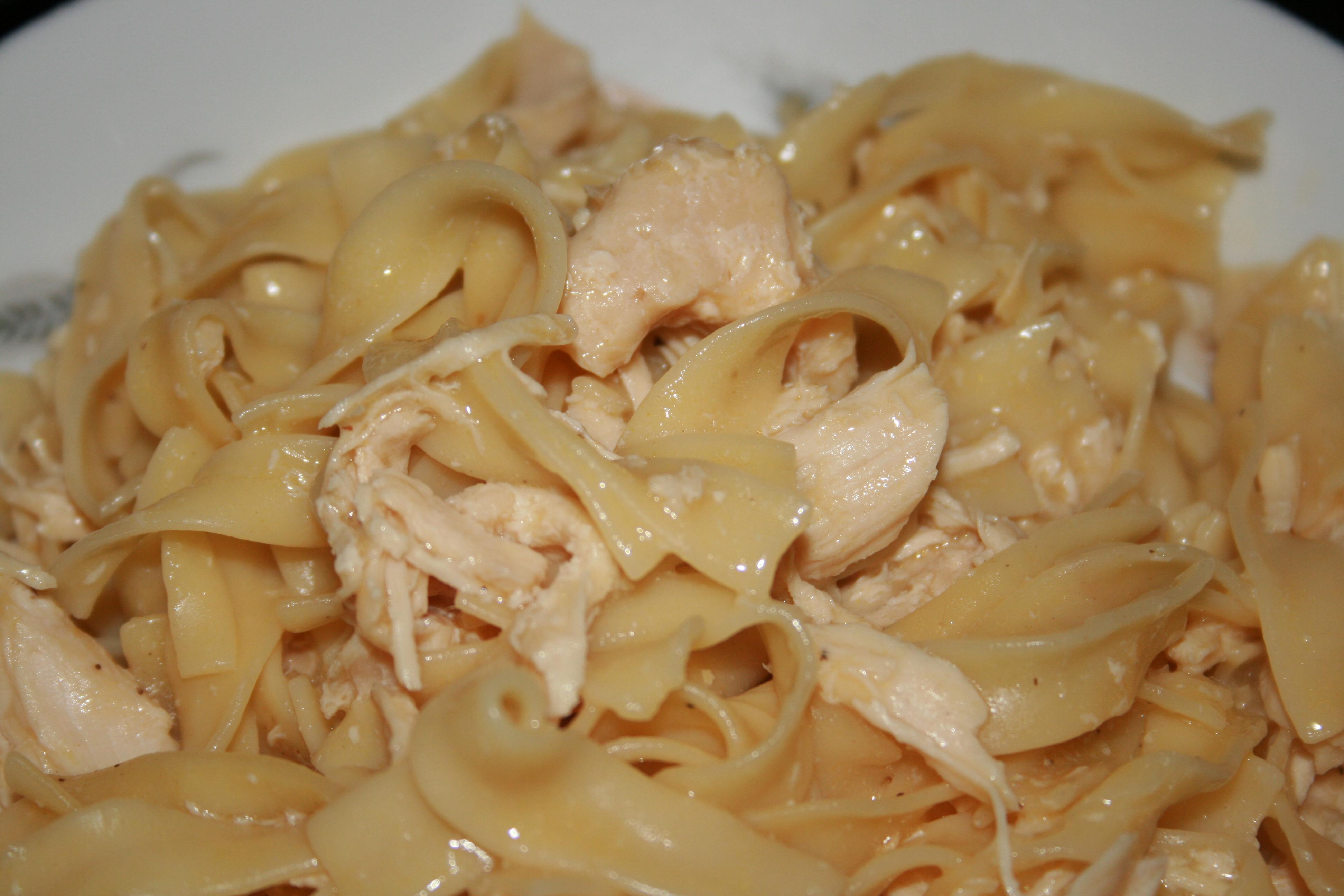 Chicken And Noodles Crock Pot  Crock Pot Chicken and Noodles