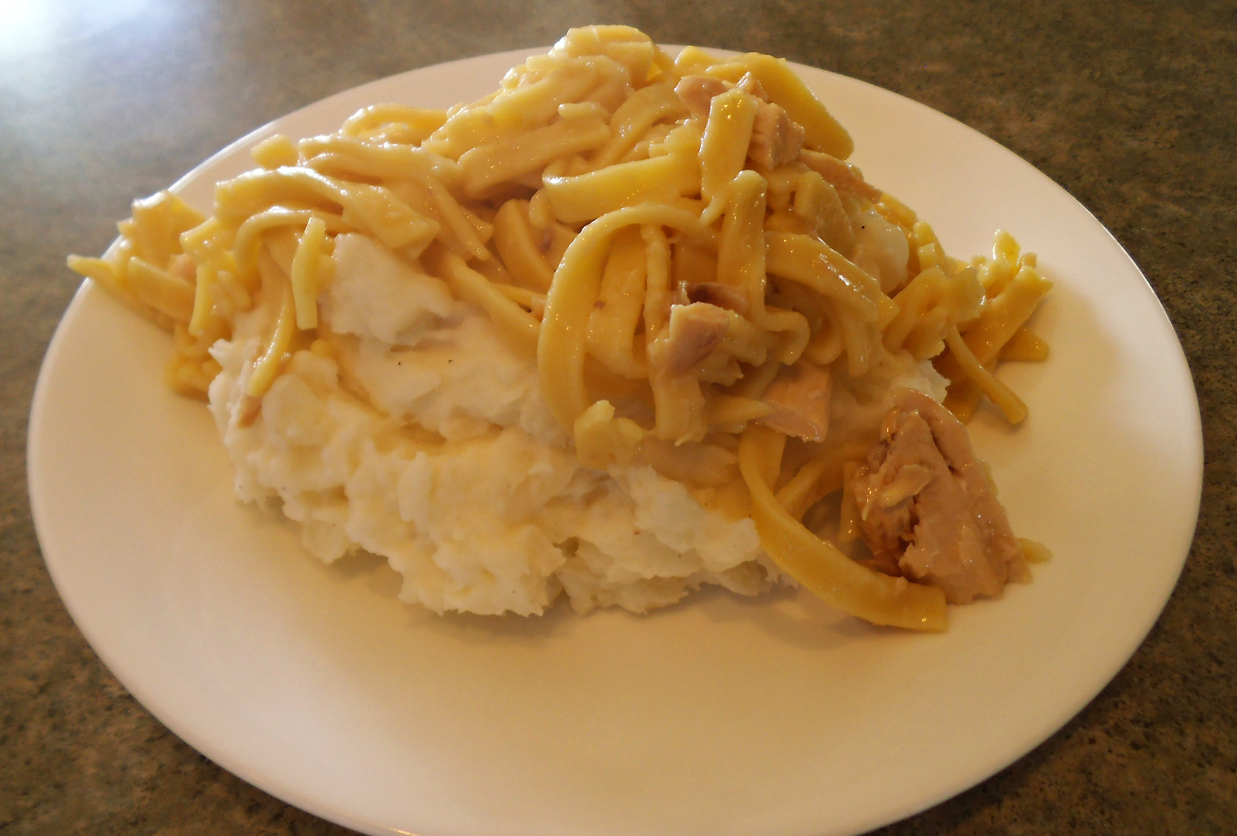 Chicken And Noodles Over Mashed Potatoes  Amish Chicken and Noodles with Jan Drexler Amish Wisdom