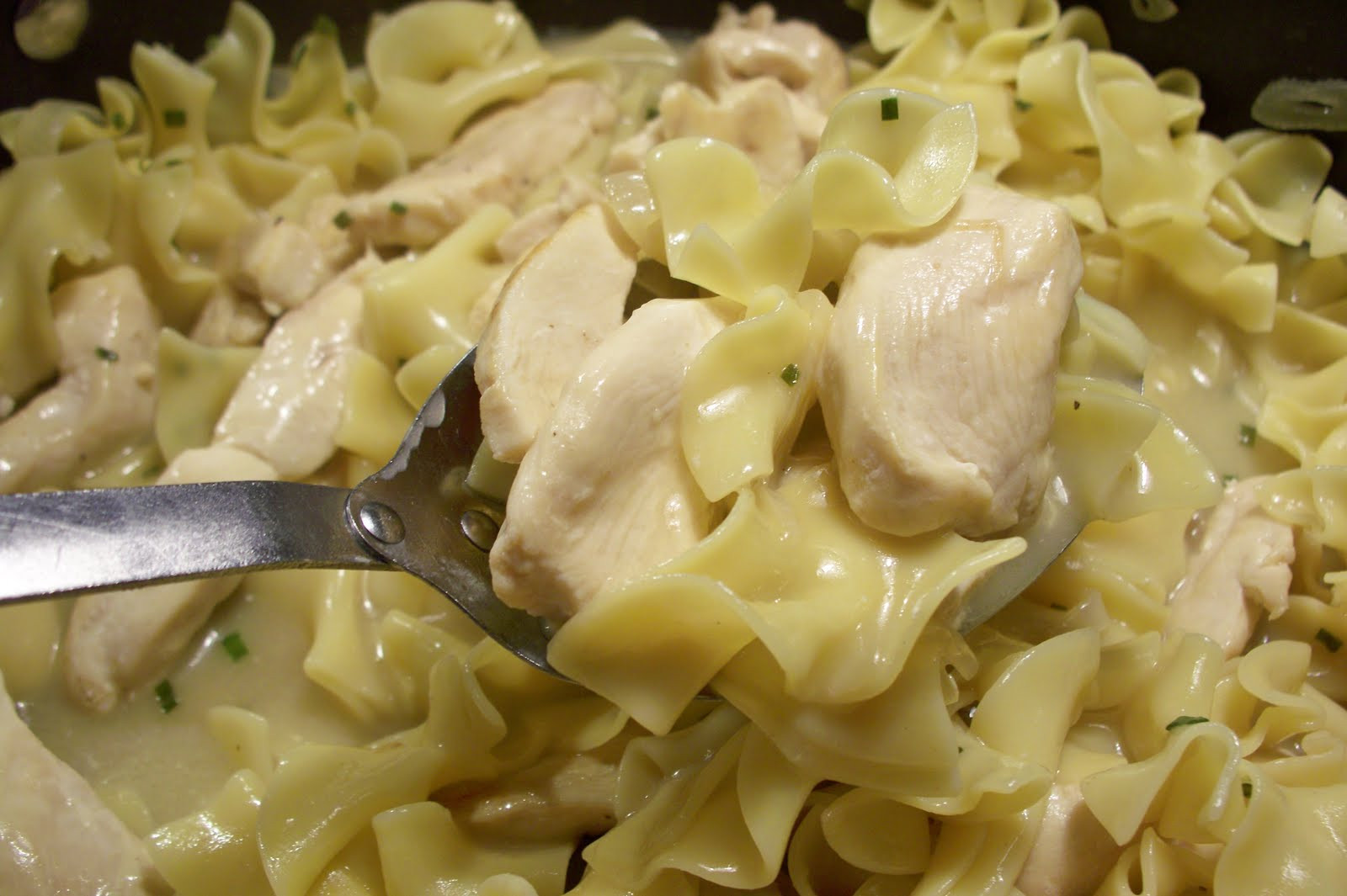 Chicken And Noodles Recipe  Chicken and Egg Noodle Dumplings Food So Good Mall