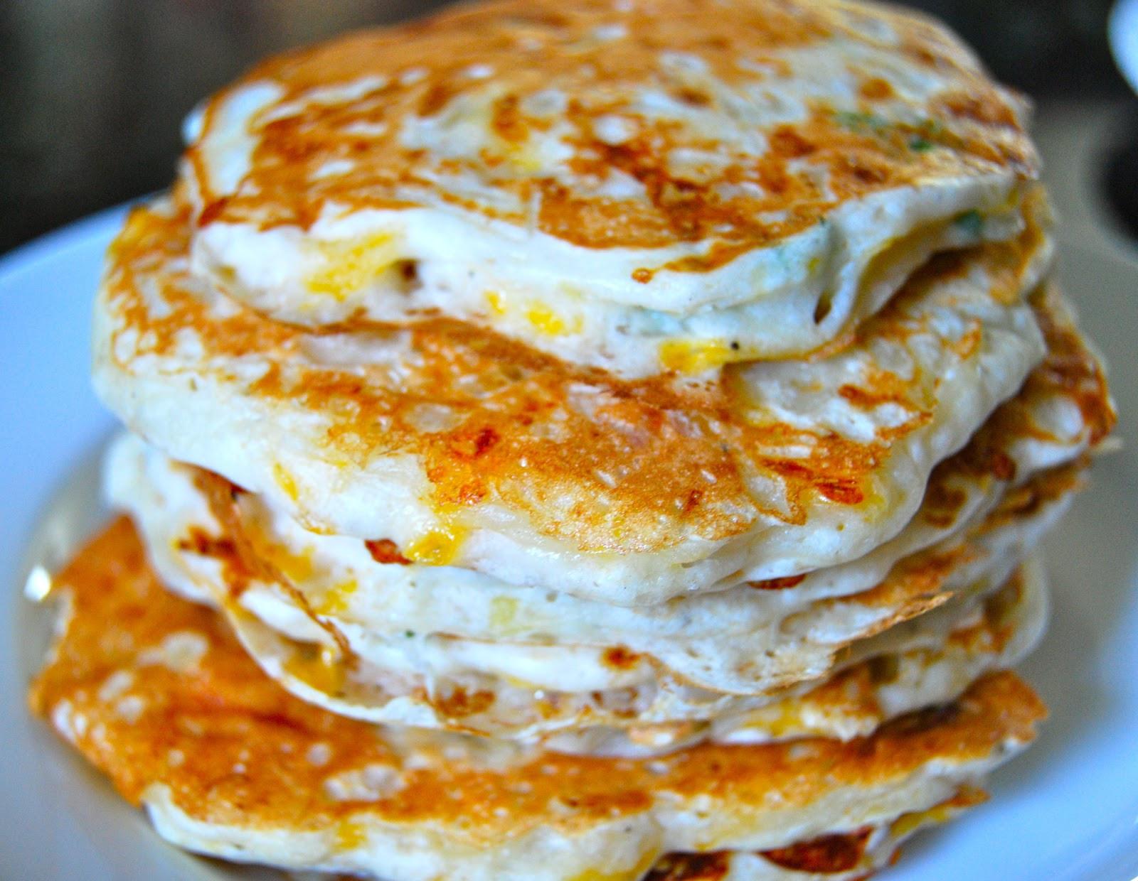 Chicken And Pancakes  Monster Mama Chicken Potato Pancakes