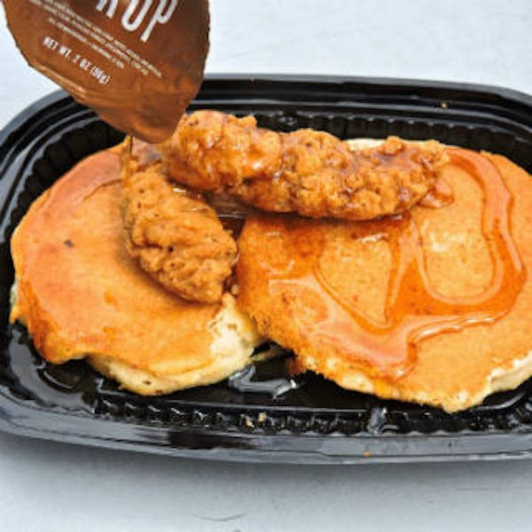 Chicken And Pancakes  Secret fast food menu items you need to try ASAP theCHIVE