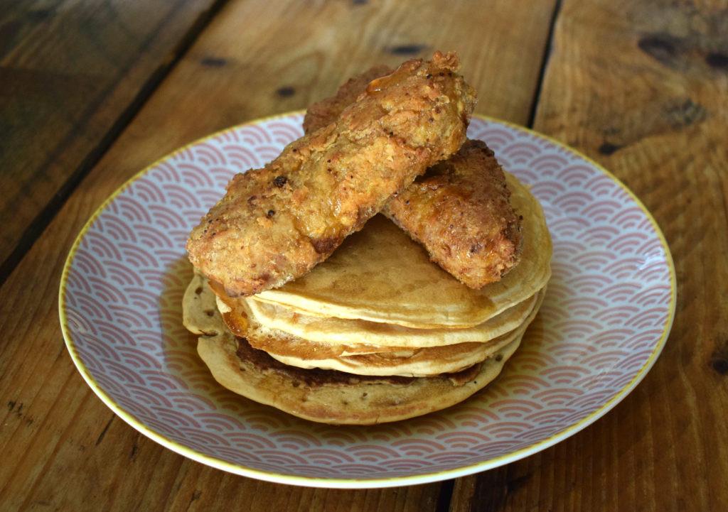 Chicken And Pancakes  Vegan Fried Chicken and Pancakes Vegan Punks