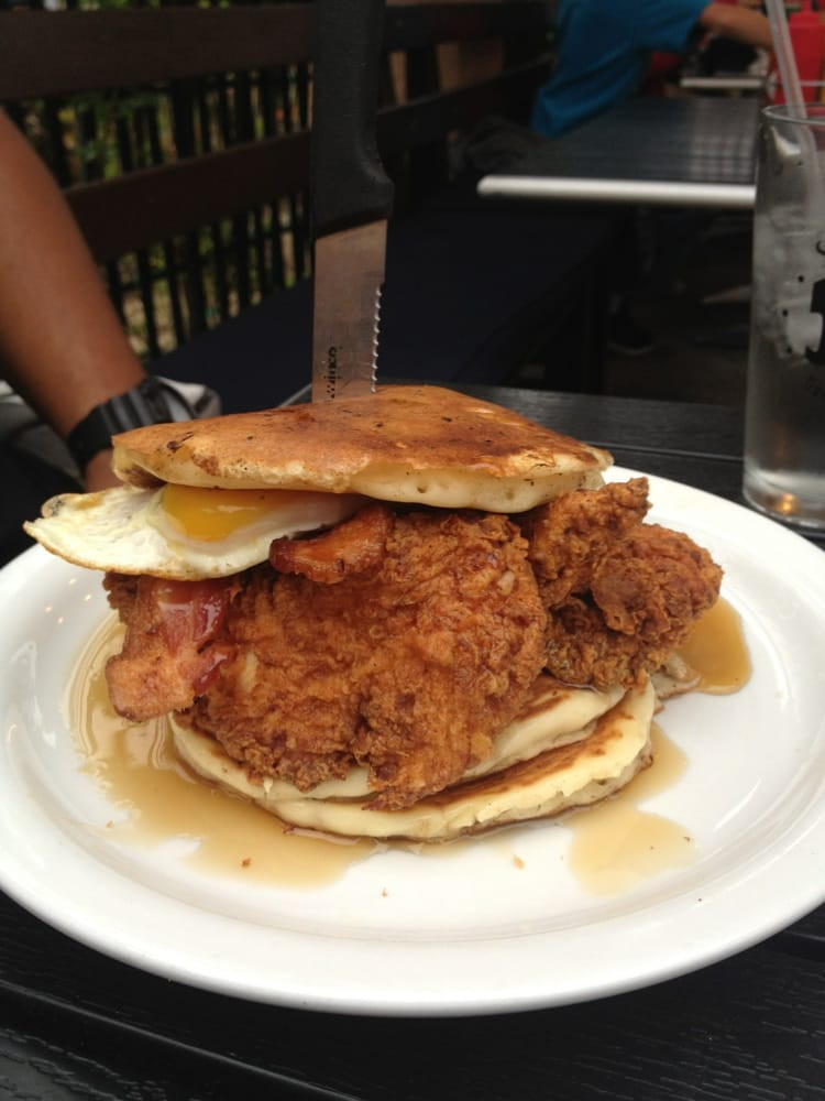 Chicken And Pancakes  Chicken and pancakes Yelp