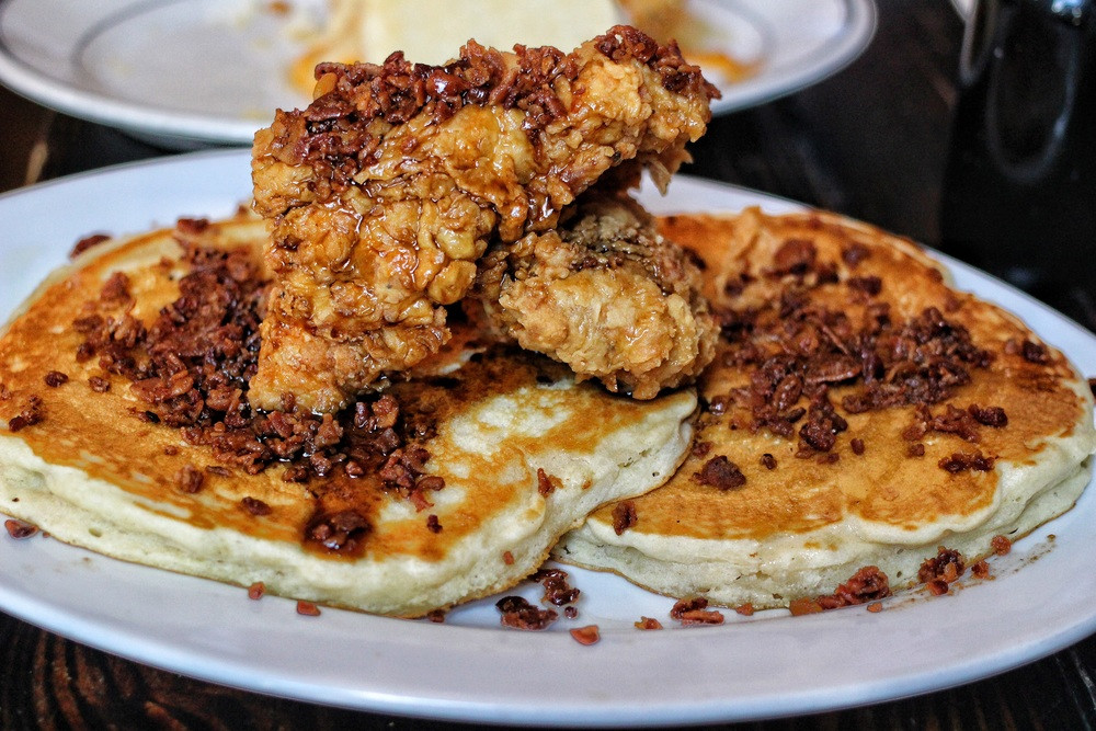 Chicken And Pancakes  Pancakes And Chicken e Hungry Jew Guides Cake Ideas