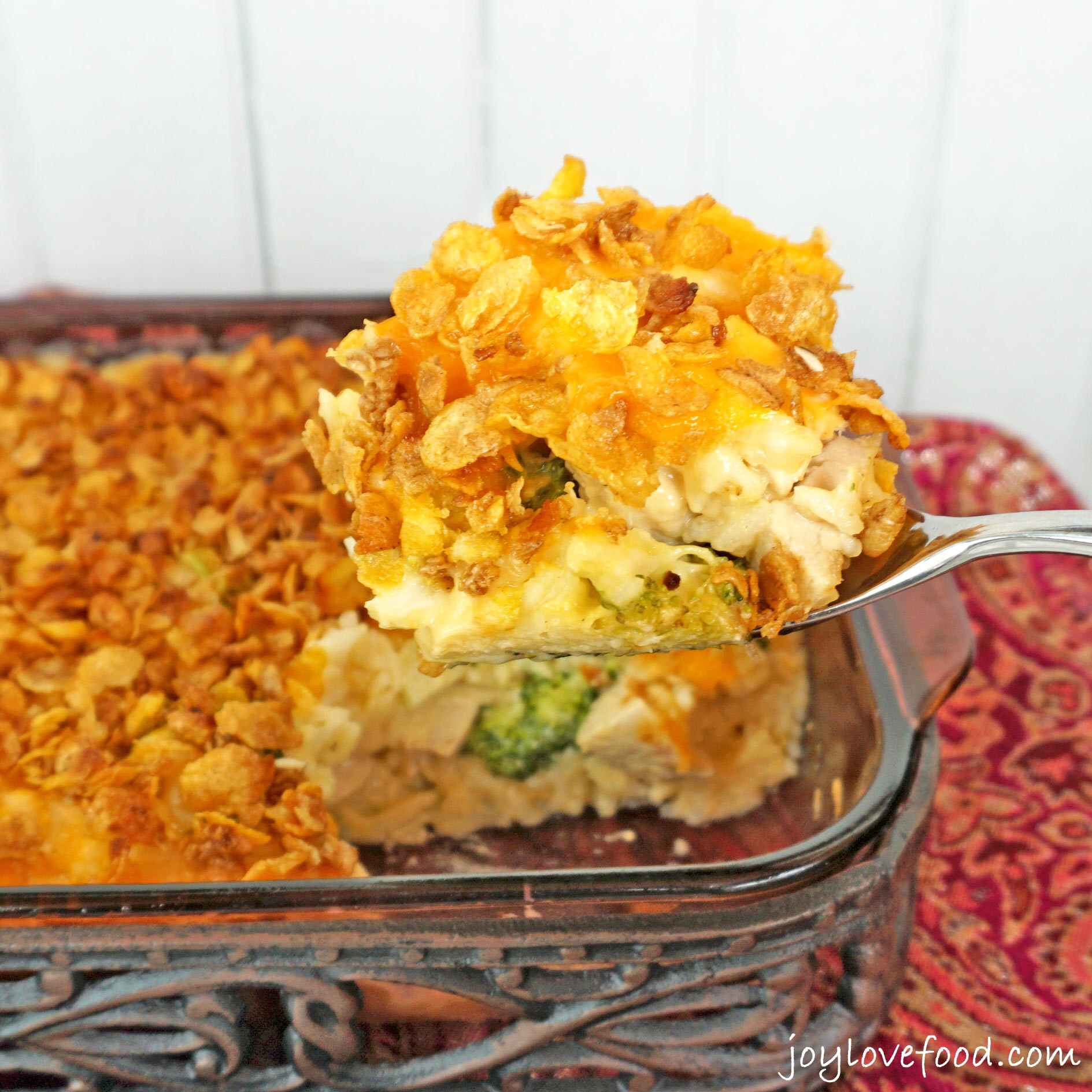 Chicken And Rice Casserole  Cheesy Chicken Broccoli and Rice Casserole Joy Love Food