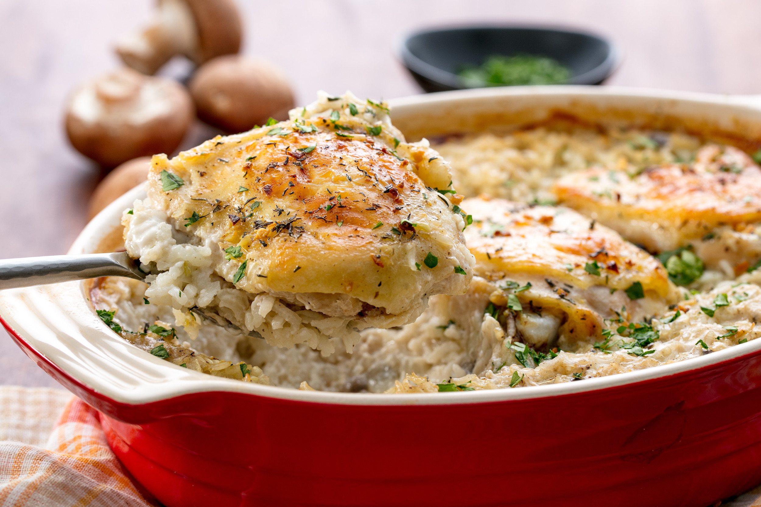 Chicken And Rice Casserole  20 Easy e Pot Meals Best e Dish Dinner Recipes