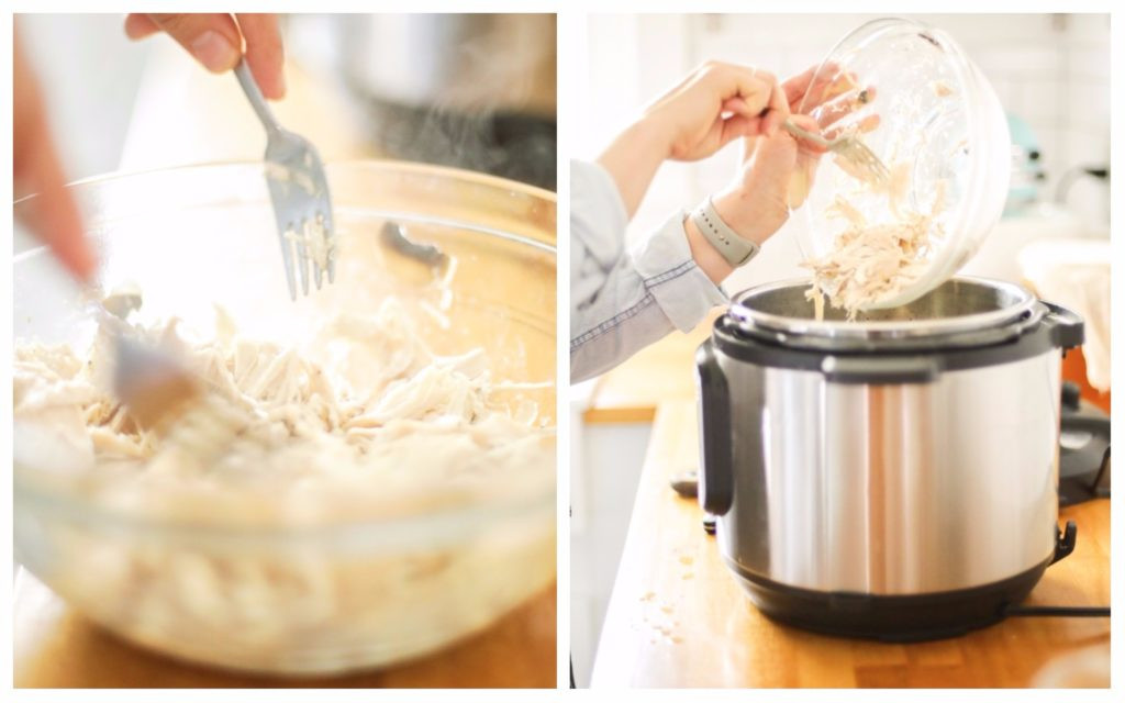 Chicken And Rice Soup Instant Pot  Instant Pot Creamed Chicken and Rice Soup Pressure Cooker
