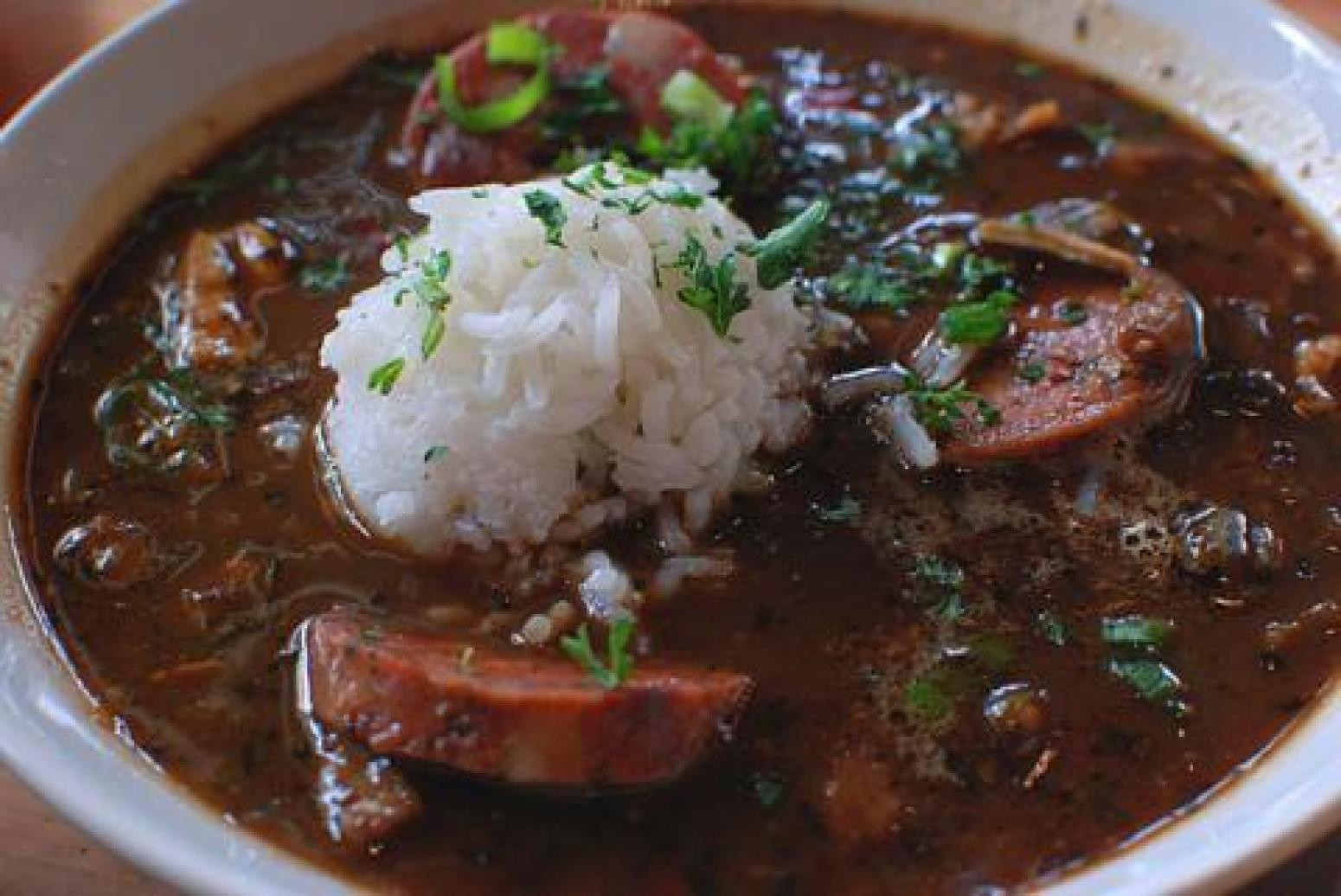 Chicken And Sausage Gumbo  David s Chicken and Sausage Gumbo Recipe