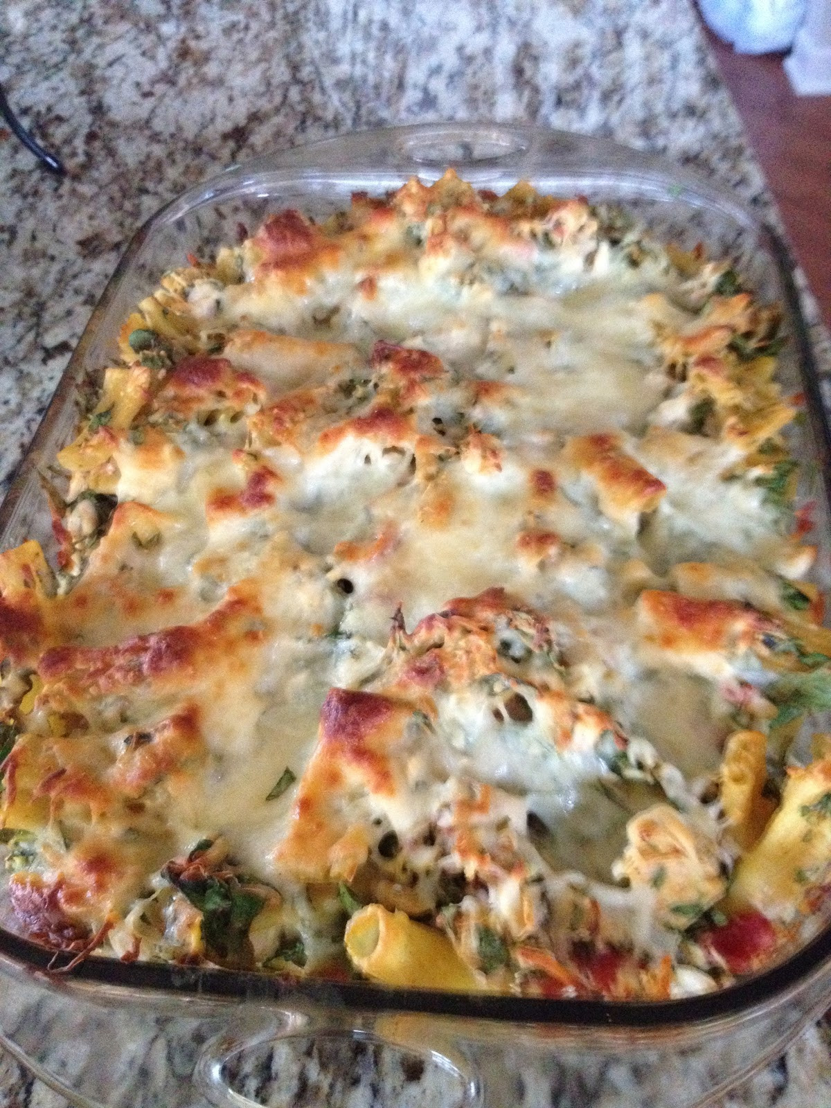 Chicken And Spinach Casserole  In My Shoes Shopping & Chicken Spinach Bake