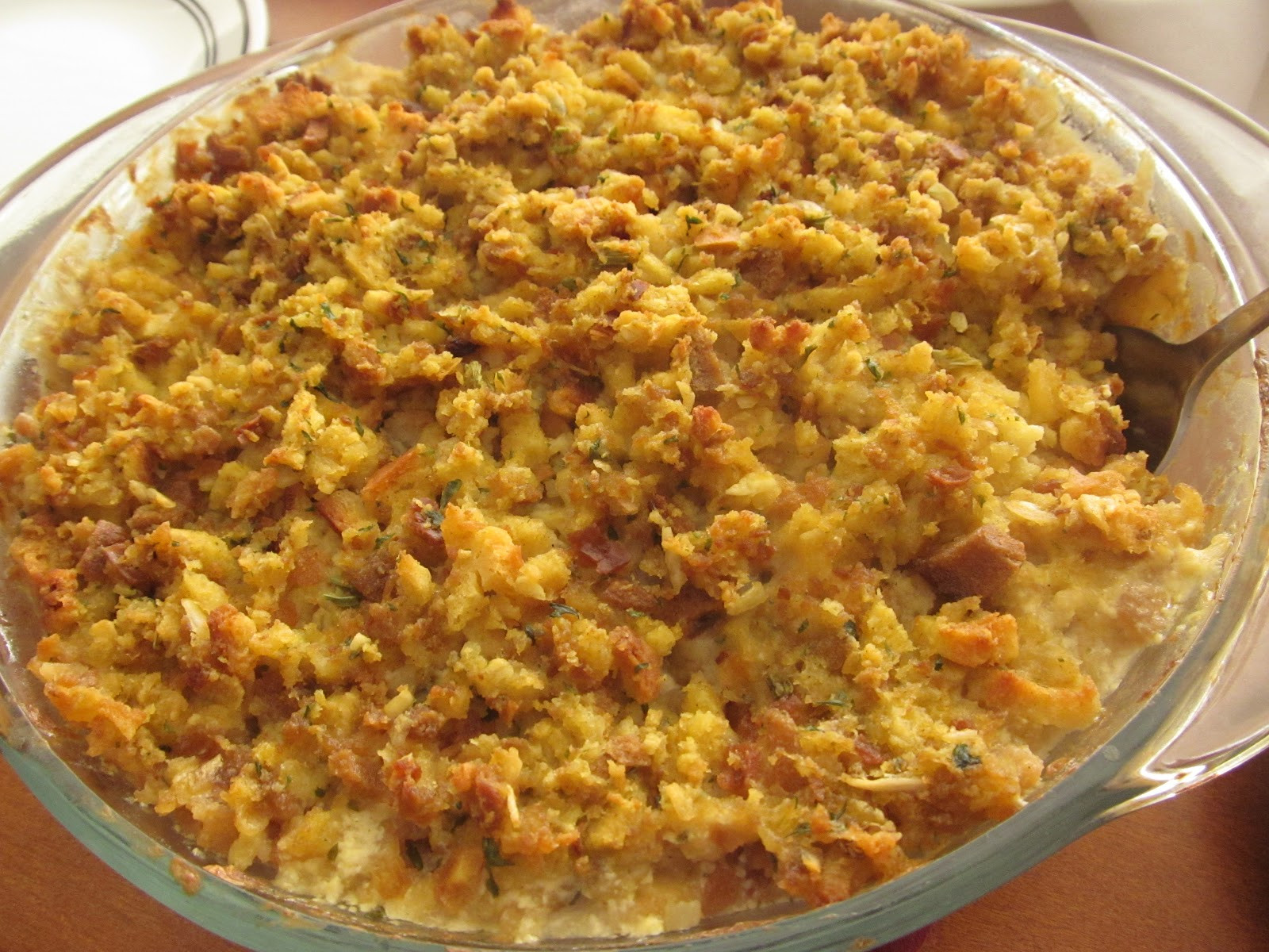 Chicken And Stuffing Casserole  A Crafty Cook Chicken and Stuffing Casserole