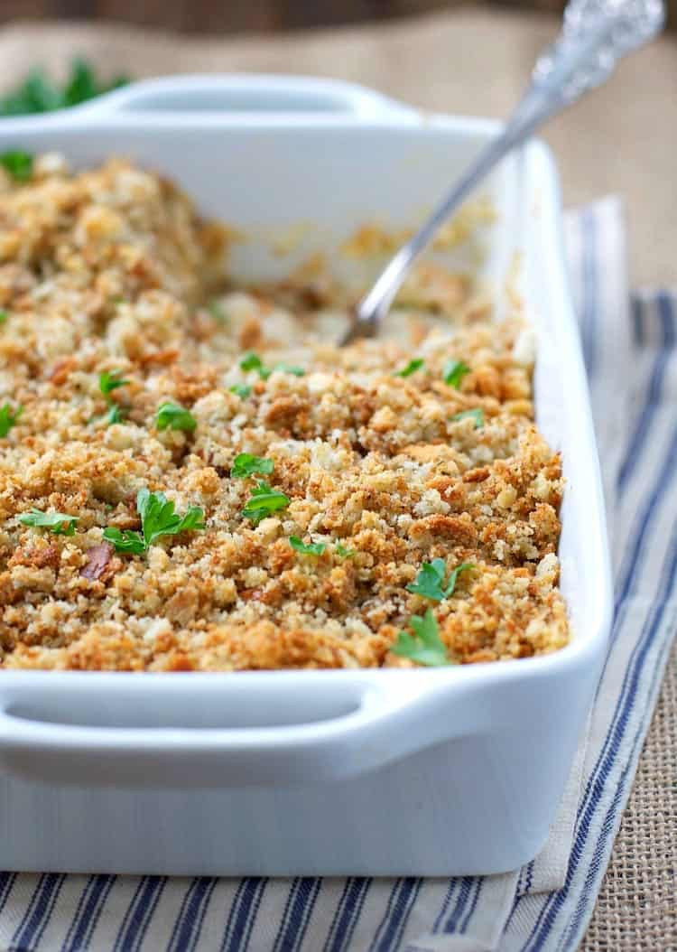 Chicken And Stuffing Casserole  Chicken and Stuffing Casserole The Seasoned Mom