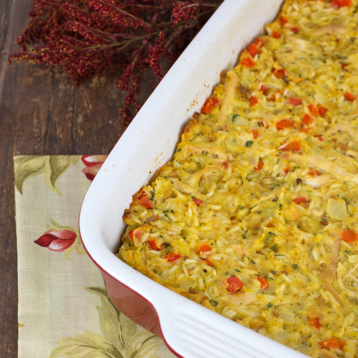 Chicken And Stuffing Casserole  Chicken and Stuffing Casserole