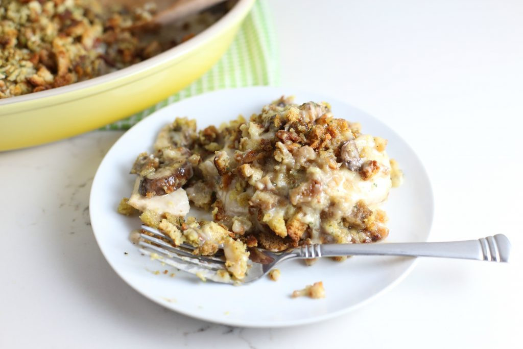 Chicken And Stuffing Casserole With Cheese  Stuffing and Cheese Chicken Casserole