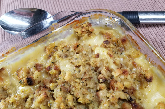 Chicken And Stuffing Casserole With Cheese  Swiss Cheese Chicken Stuffing Casserole Tasty Casseroles