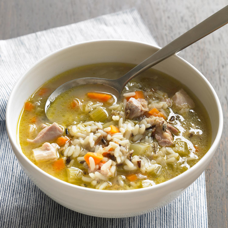 Chicken And Wild Rice Soup  Chicken and Wild Rice Soup Recipe