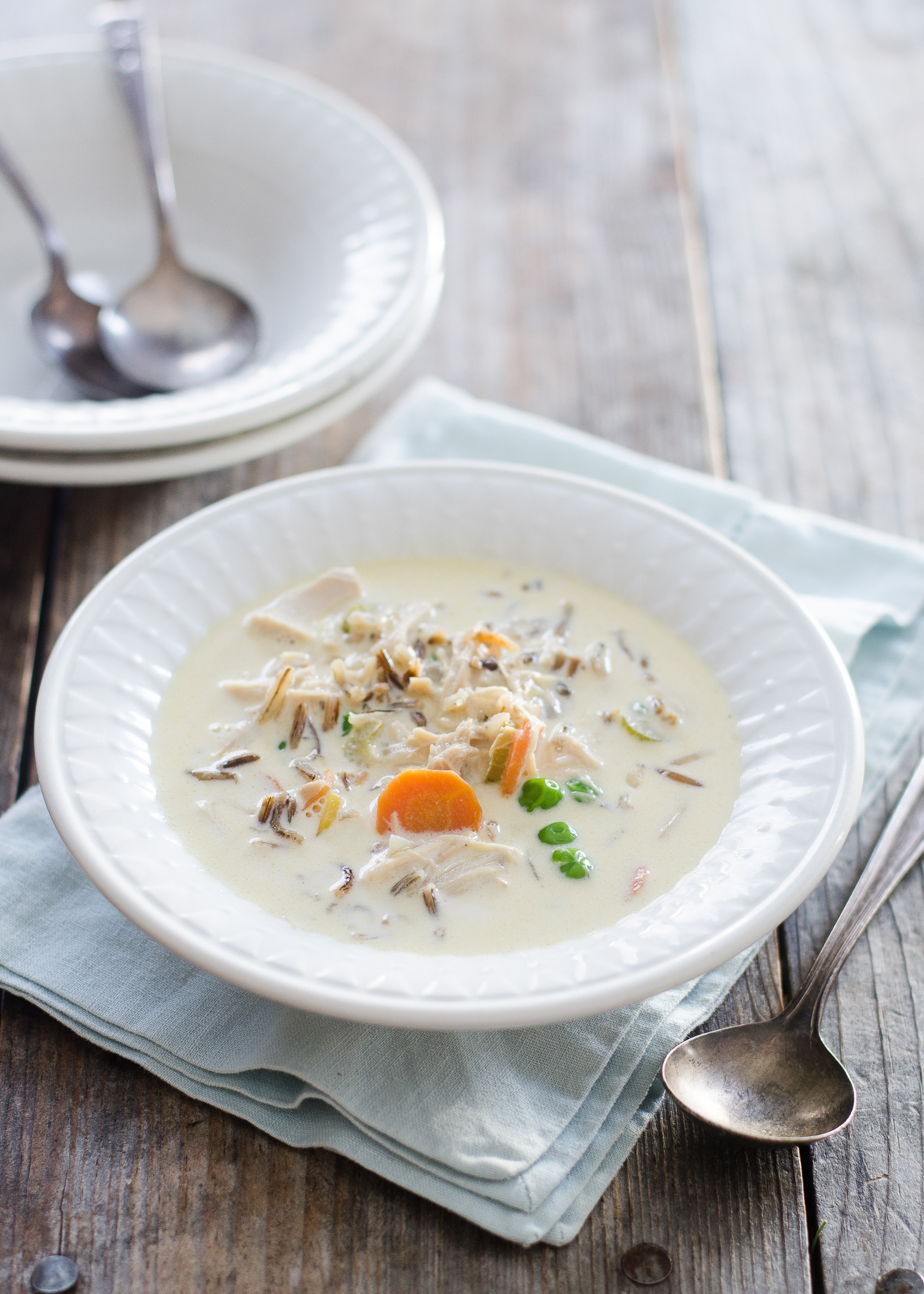 Chicken And Wild Rice Soup  Creamy Chicken Wild Rice Soup