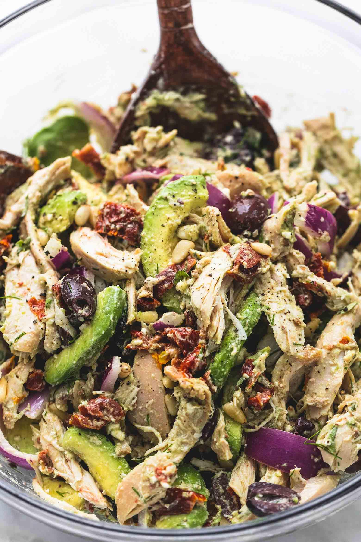 Chicken Avocado Salad  Greek Avocado Chicken Salad