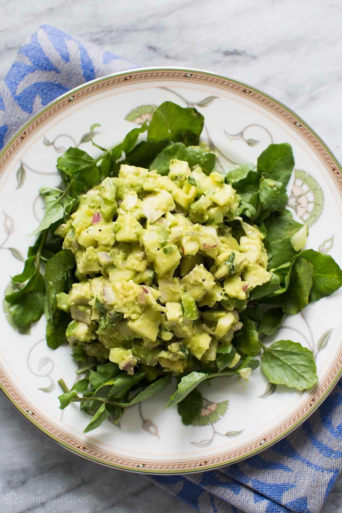 Chicken Avocado Salad  Avocado Chicken Salad Recipe