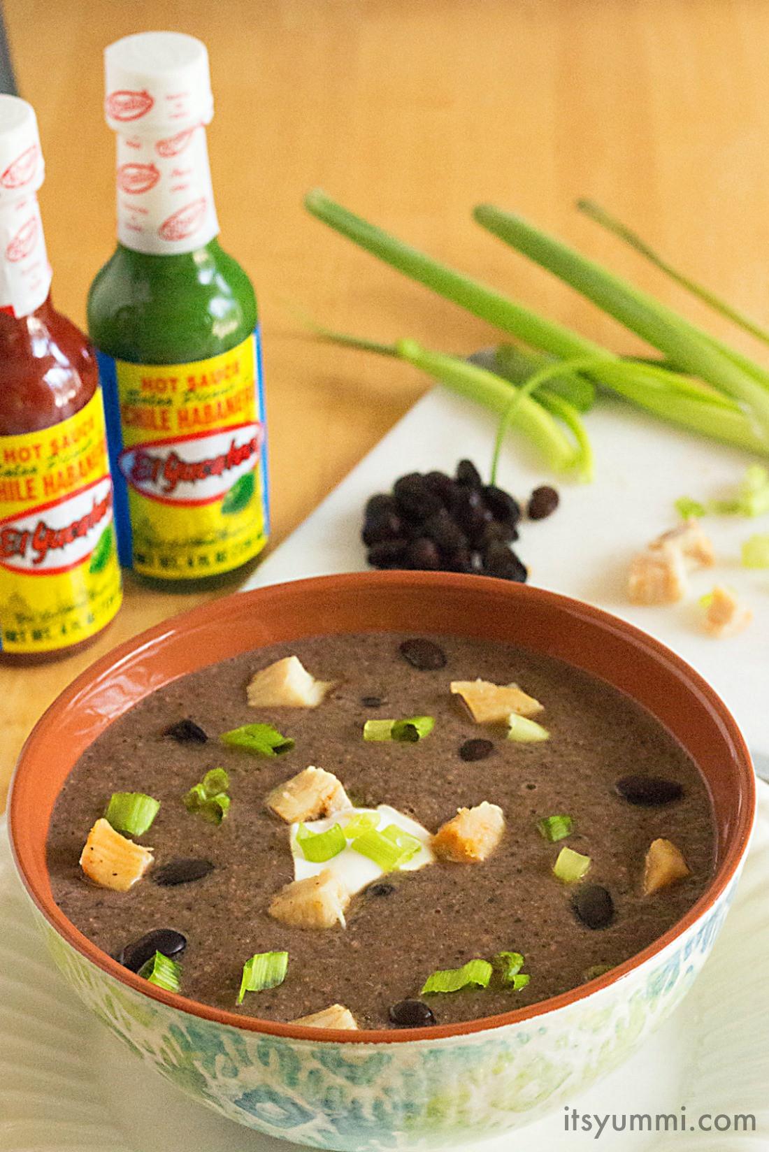Chicken Black Bean Soup  Habanero Chicken Black Bean Soup
