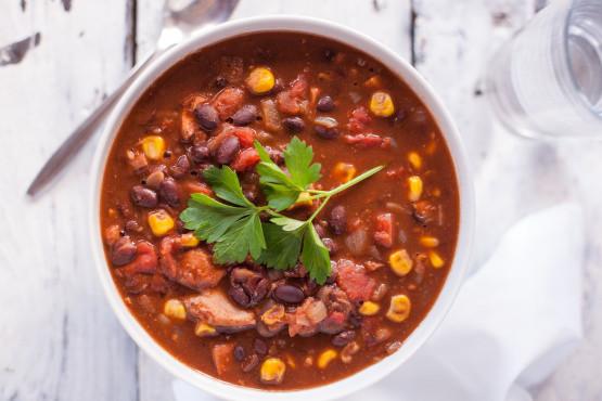 Chicken Black Bean Soup  Chicken and northern bean soup recipes Food chicken recipes