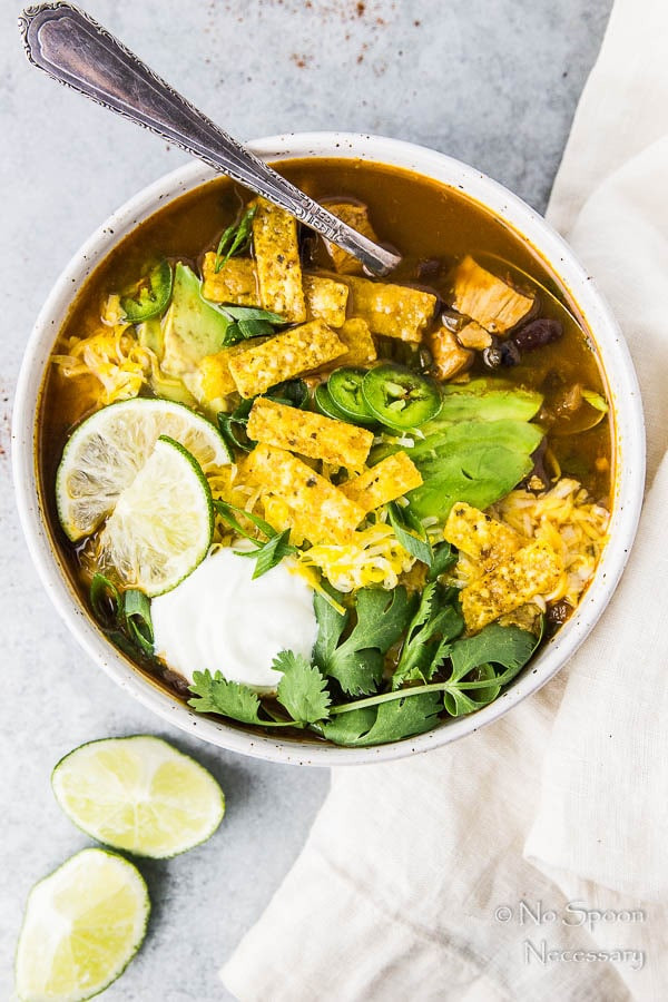 Chicken Black Bean Soup  Quick & Easy Chicken & Black Bean Soup No Spoon Necessary
