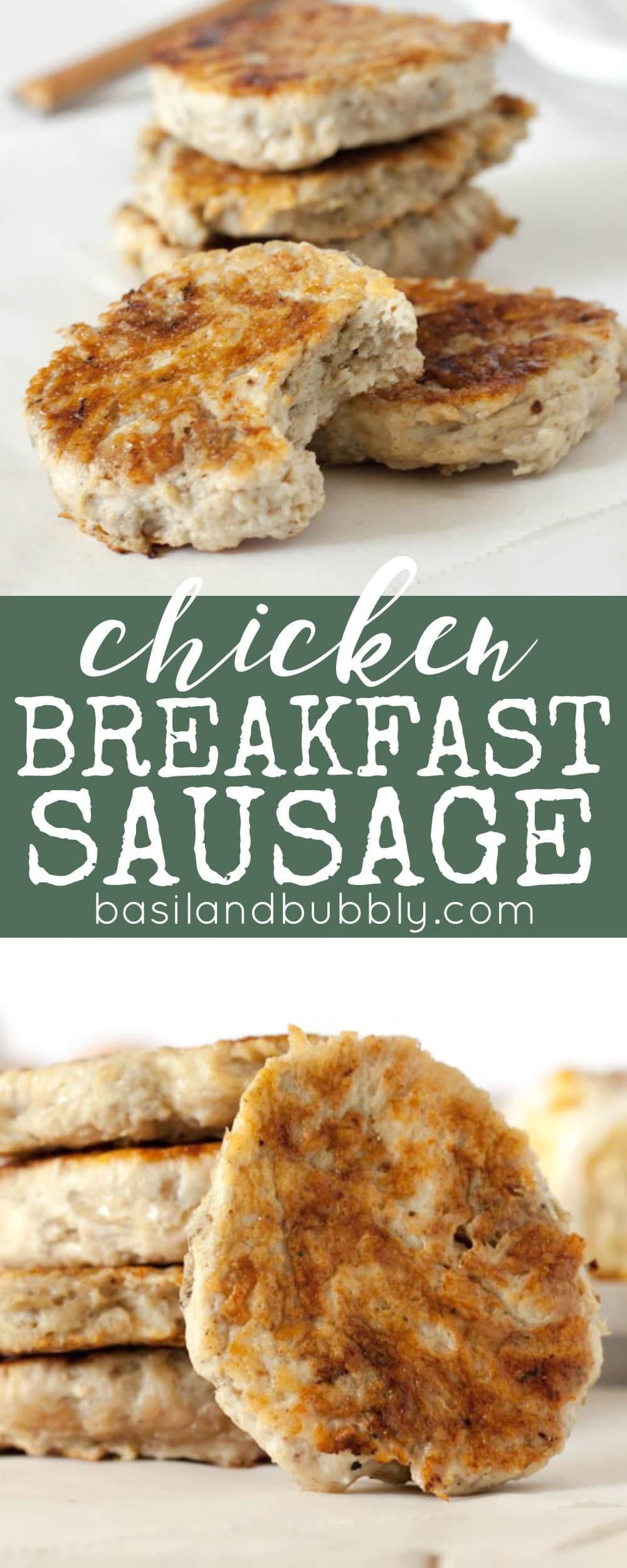 Chicken Breakfast Sausage Recipe  ground chicken breakfast sausage recipe