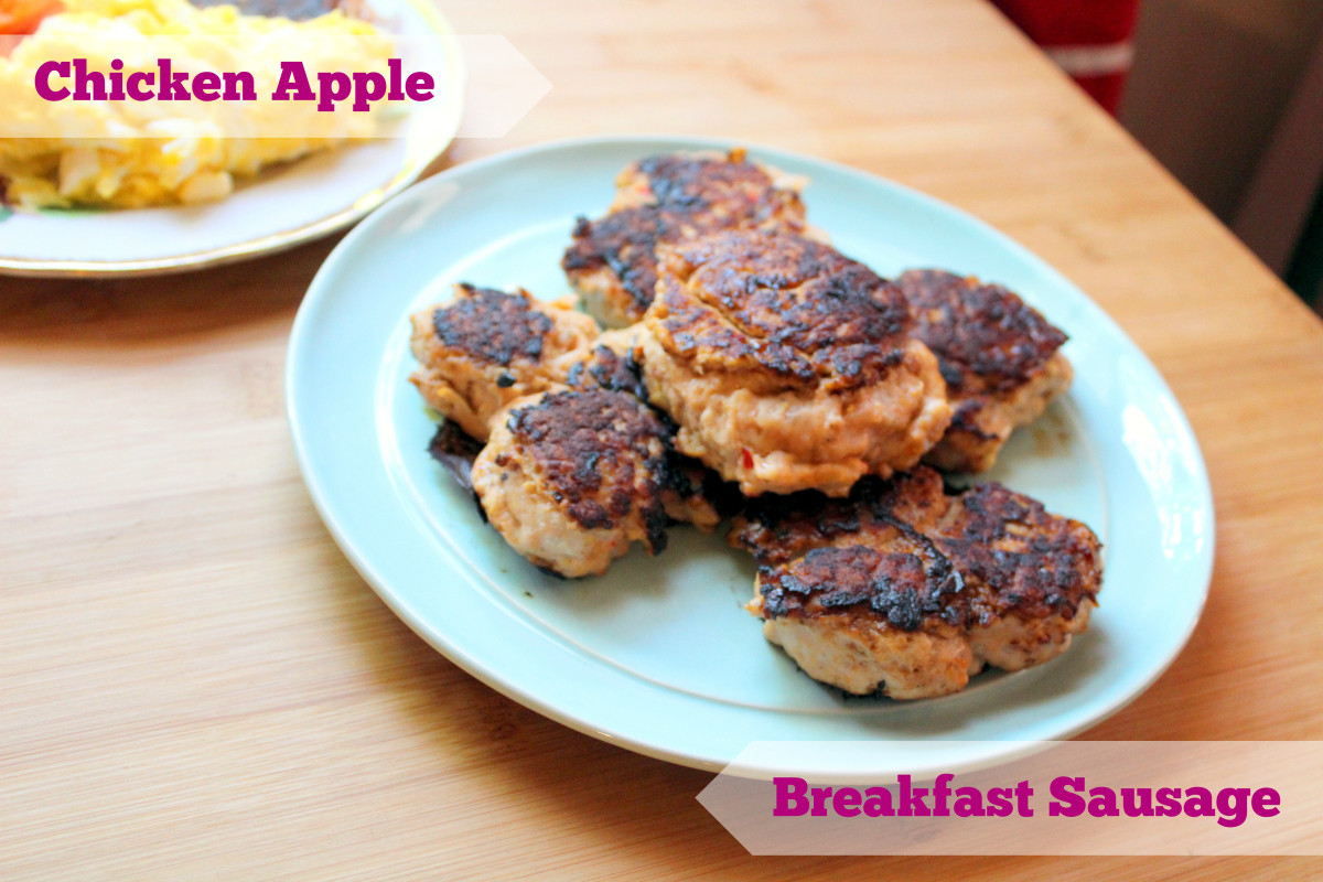 Chicken Breakfast Sausage Recipe  Recipe Chicken Apple Breakfast Sausage Paleo & Whole 30