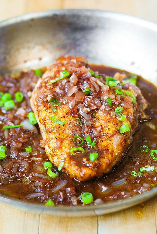 Chicken Breast Dinner Ideas  Pan Seared Chicken Breast with Shallots Julia s Album