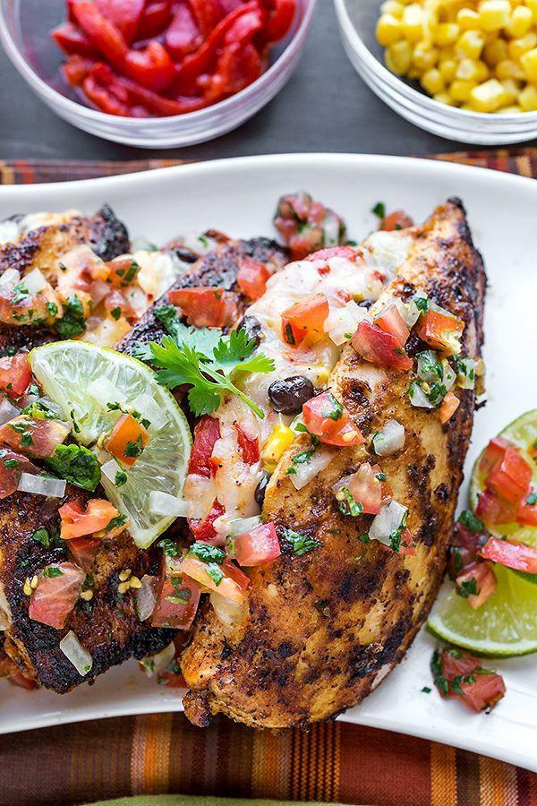 Chicken Breast Dinner Ideas  25 best ideas about Stuffed Chicken Breasts on Pinterest