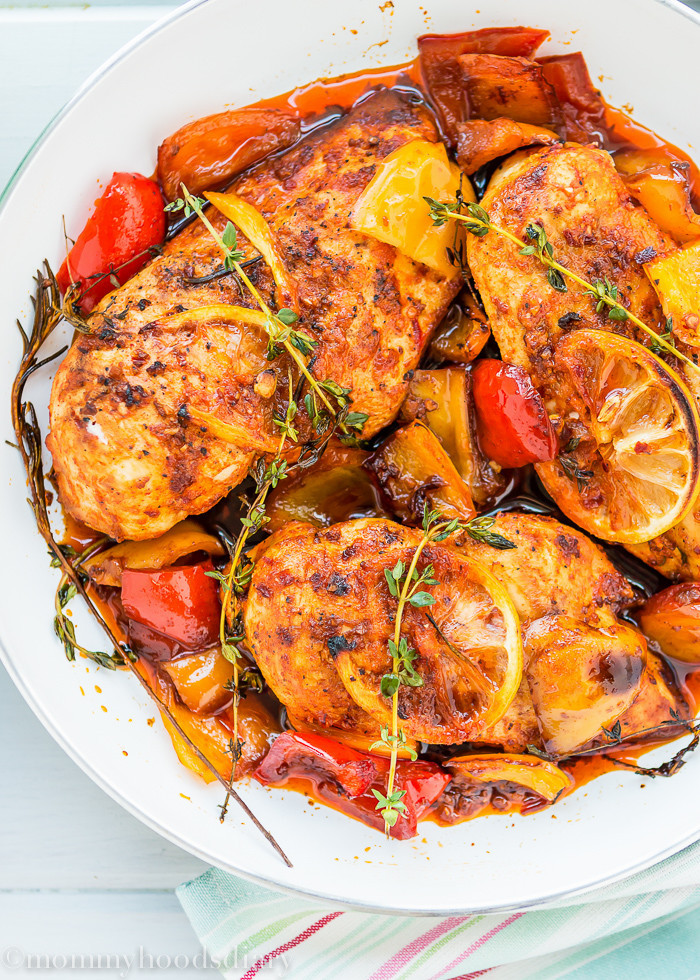 Chicken Breast Dinner Ideas  Easy Peri Peri Chicken Breasts Mommy s Home Cooking