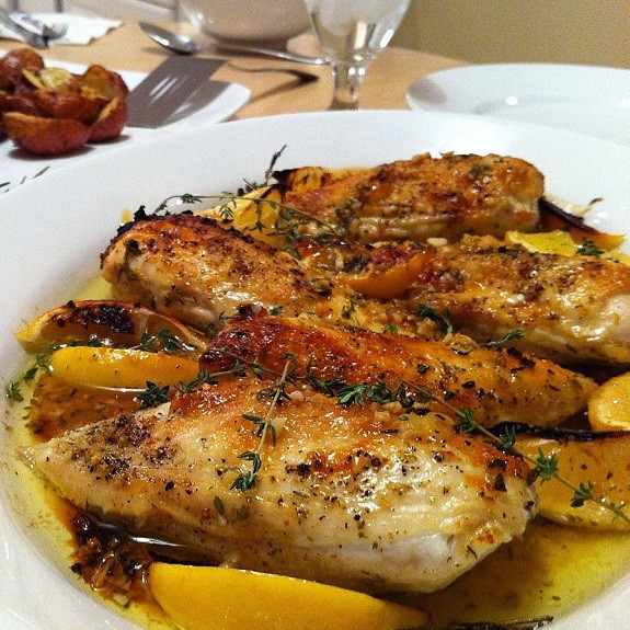 Chicken Breasts In Slow Cooker  Slow Cooker Herbed Chicken Breasts Magic Skillet