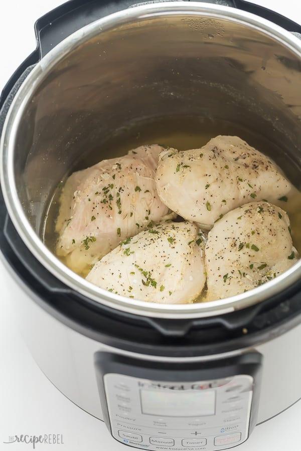 Chicken Breasts Instant Pot  How to Cook Frozen Chicken Breasts in the Instant Pot