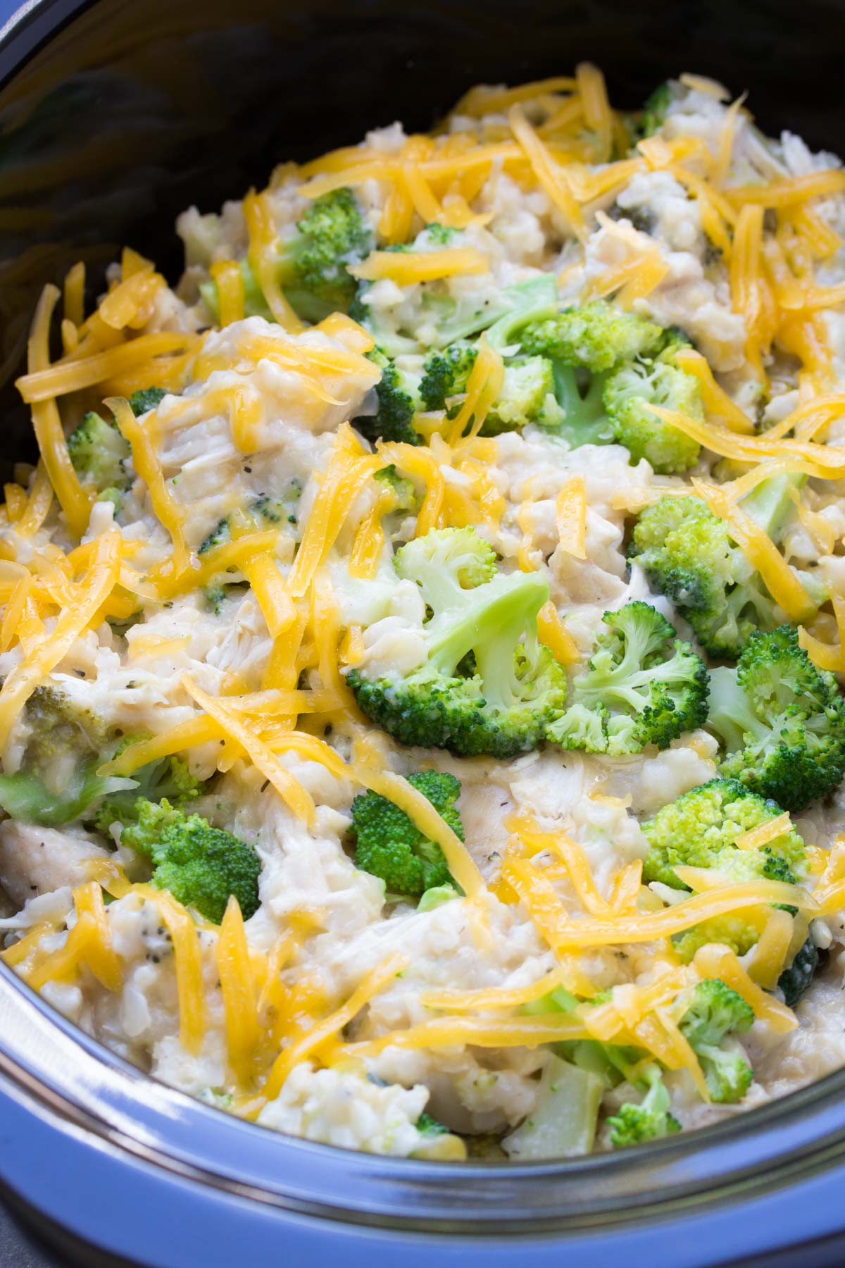 Chicken Broccoli And Rice  slow cooker chicken broccoli rice casserole