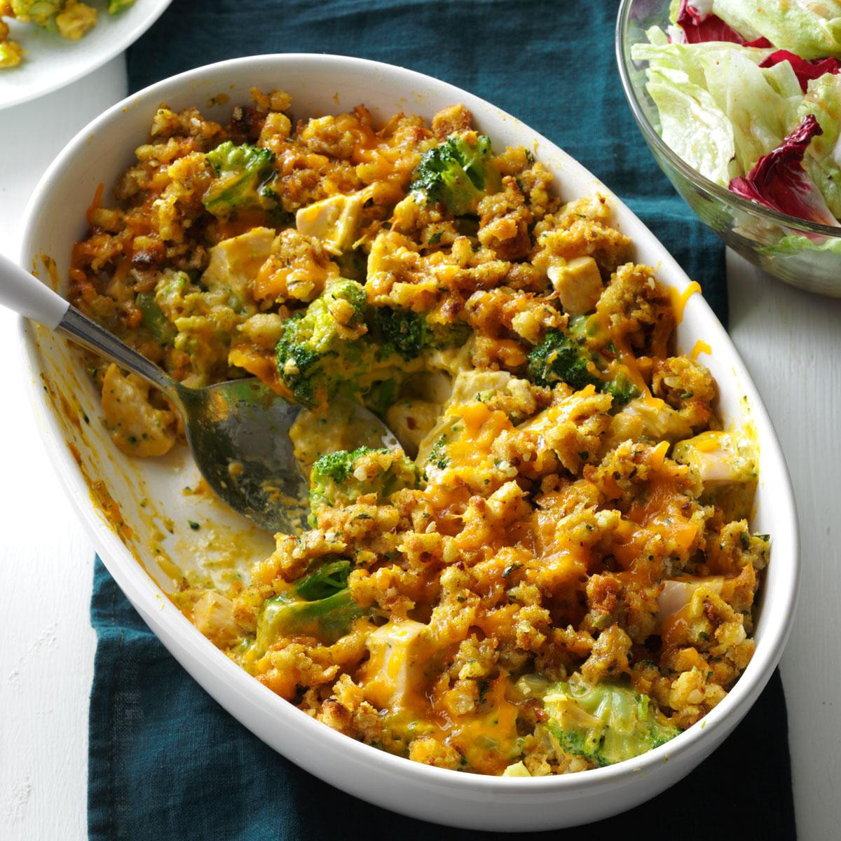 Chicken Broccoli Casserole  Contest Winning Broccoli Chicken Casserole Recipe