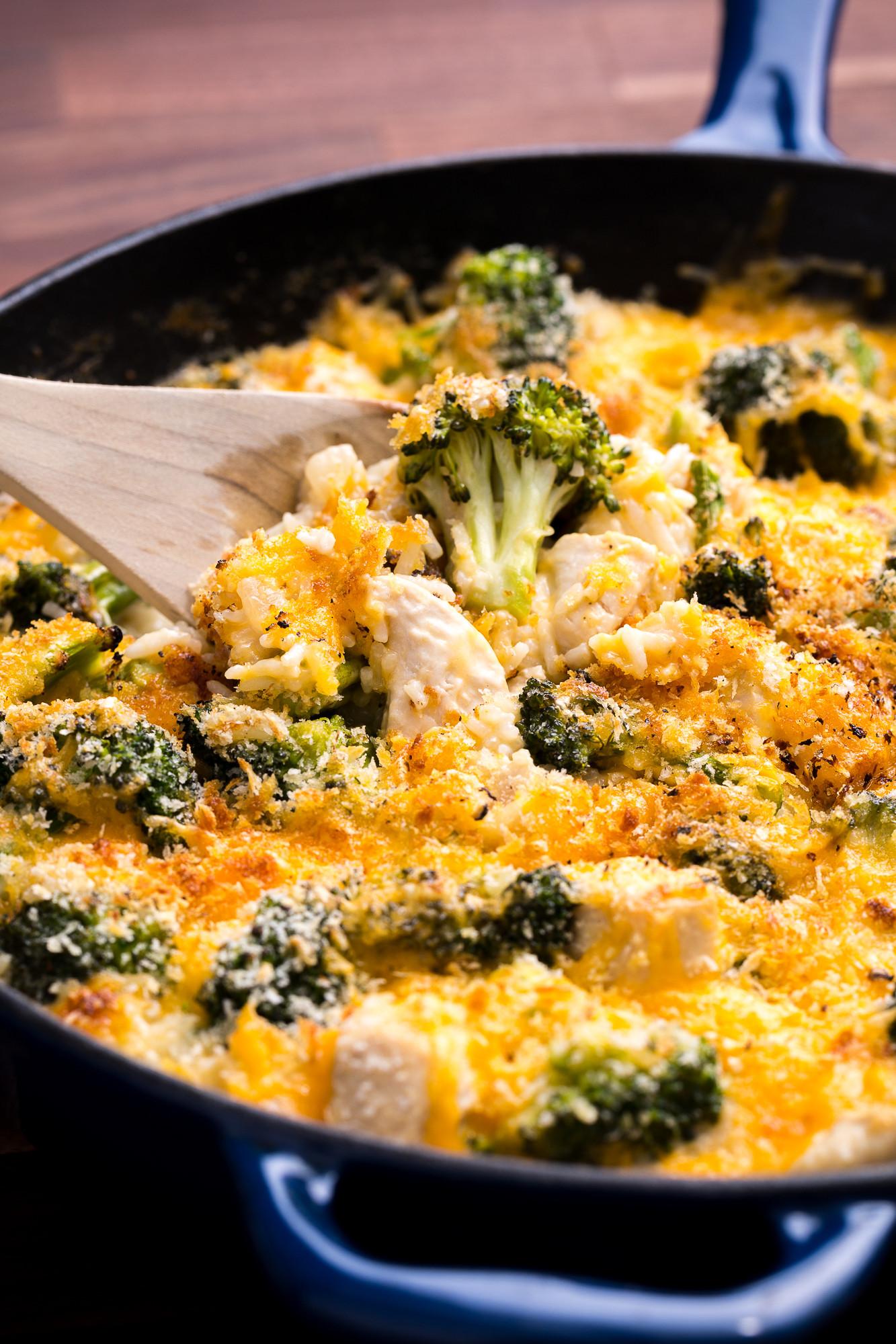 Chicken Broccoli Casserole Recipe  cheesy chicken and broccoli bake recipe
