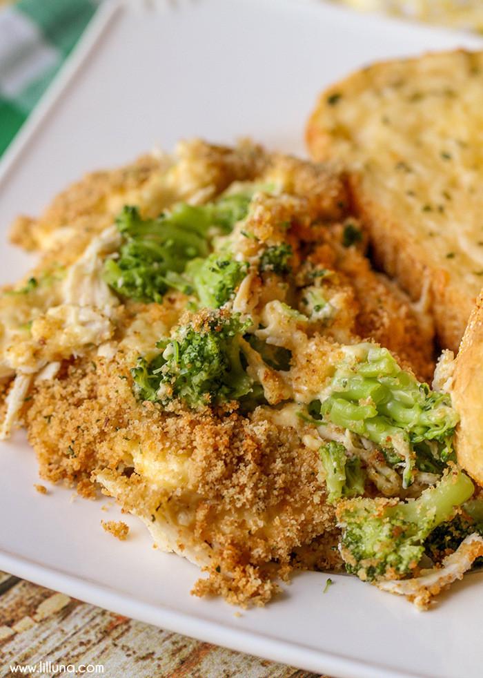 Chicken Broccoli Casserole Recipe  Cheesy Chicken Broccoli Casserole