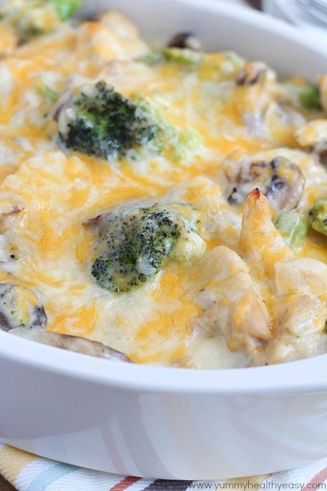 Chicken Broccoli Casserole Recipe  healthy chicken and broccoli casserole recipes