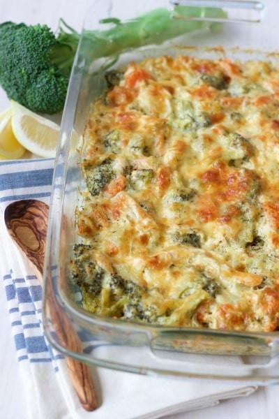 Chicken Broccoli Casserole Recipe  shredded chicken broccoli casserole
