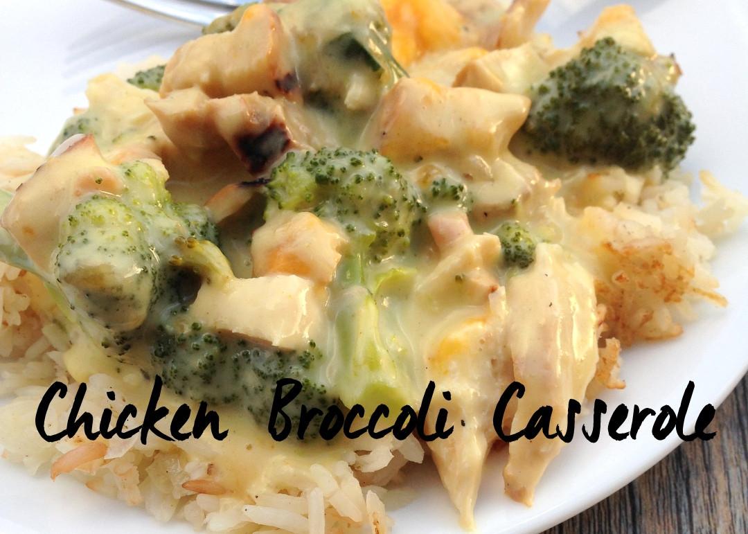 Chicken Broccoli Casserole  Chicken Broccoli Casserole