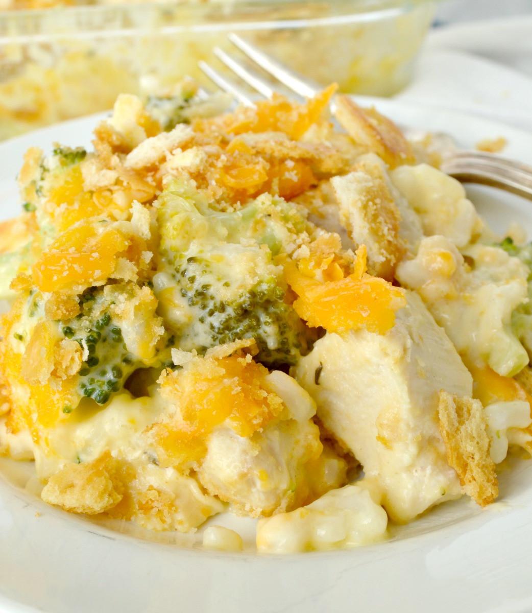 Chicken Broccoli Casserole  Chicken Broccoli Rice Casserole Gonna Want Seconds