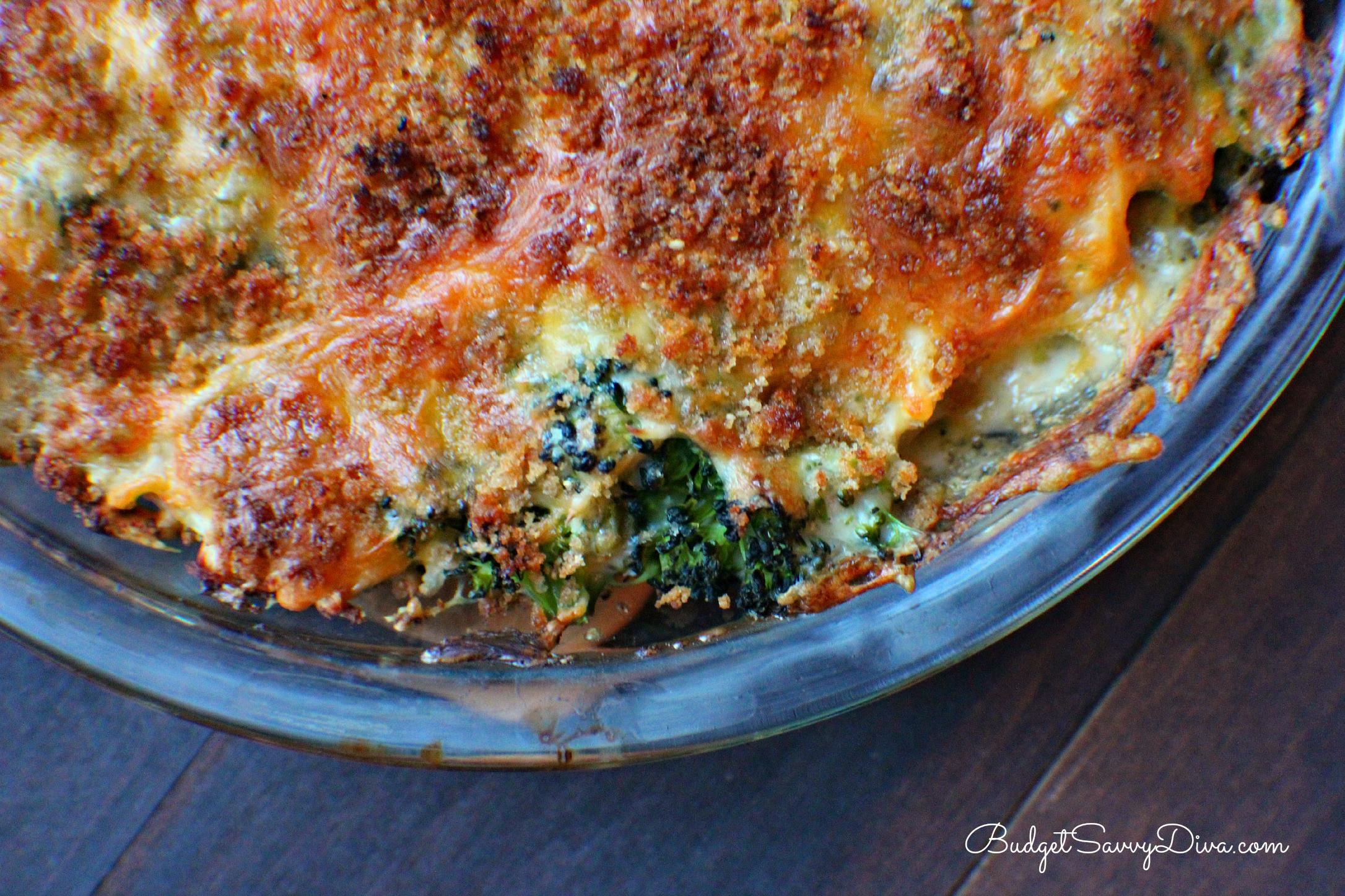 Chicken Broccoli Casserole  Cheesy Broccoli Chicken Casserole Recipe