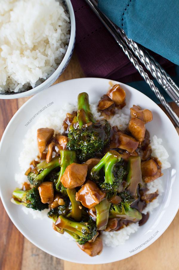 Chicken Broccoli Recipe  oriental chicken broccoli