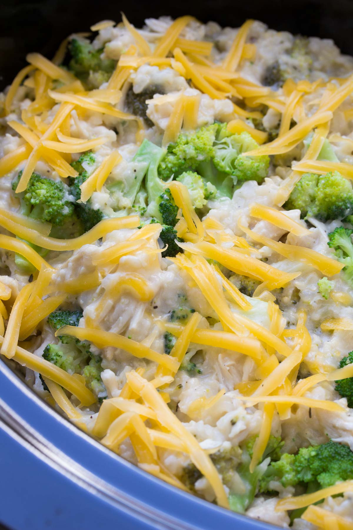 Chicken Broccoli Recipe  Slow Cooker Chicken Broccoli and Rice Casserole