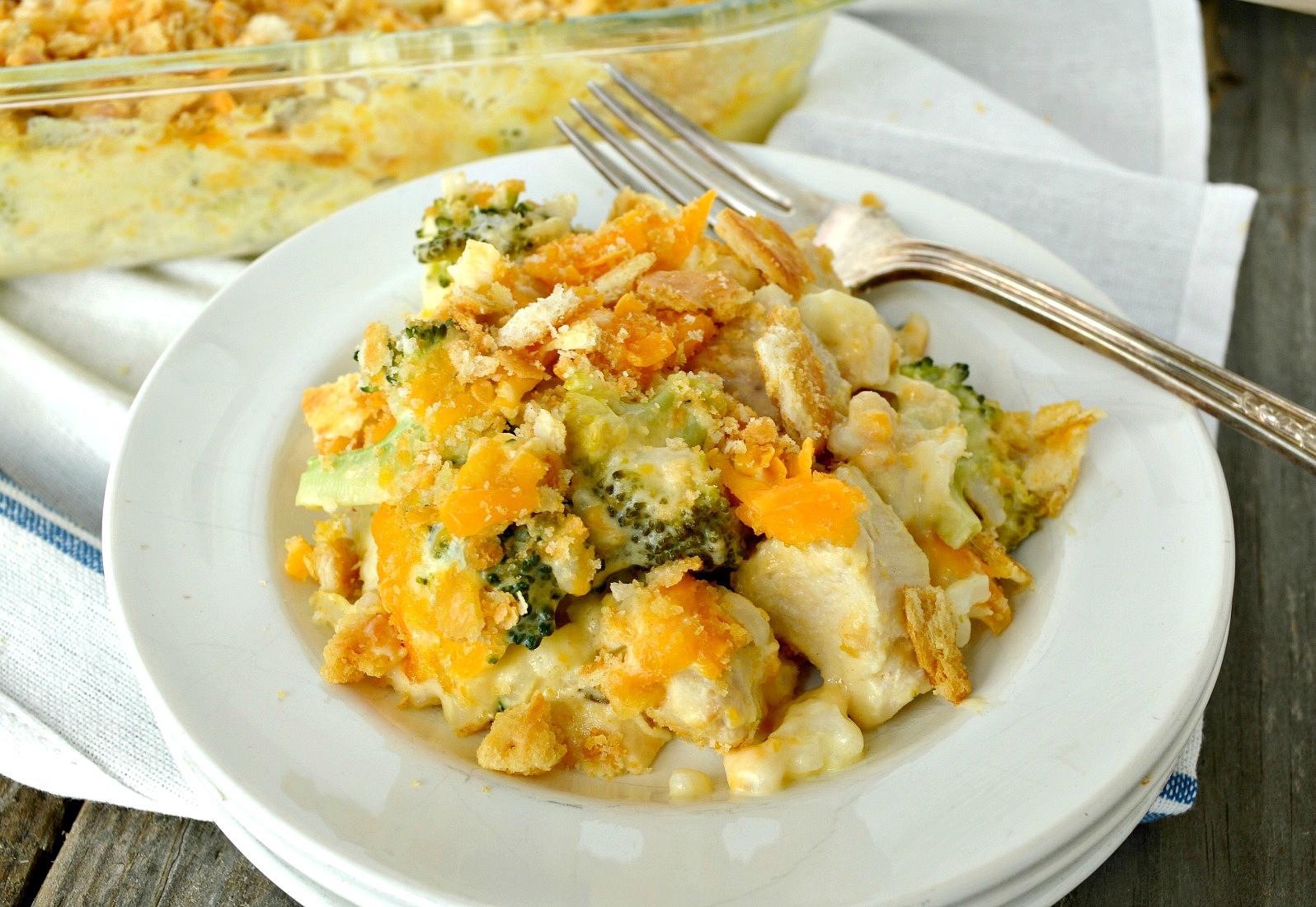 Chicken Broccoli Recipe  Chicken Broccoli Rice Casserole Easy fort Food Your