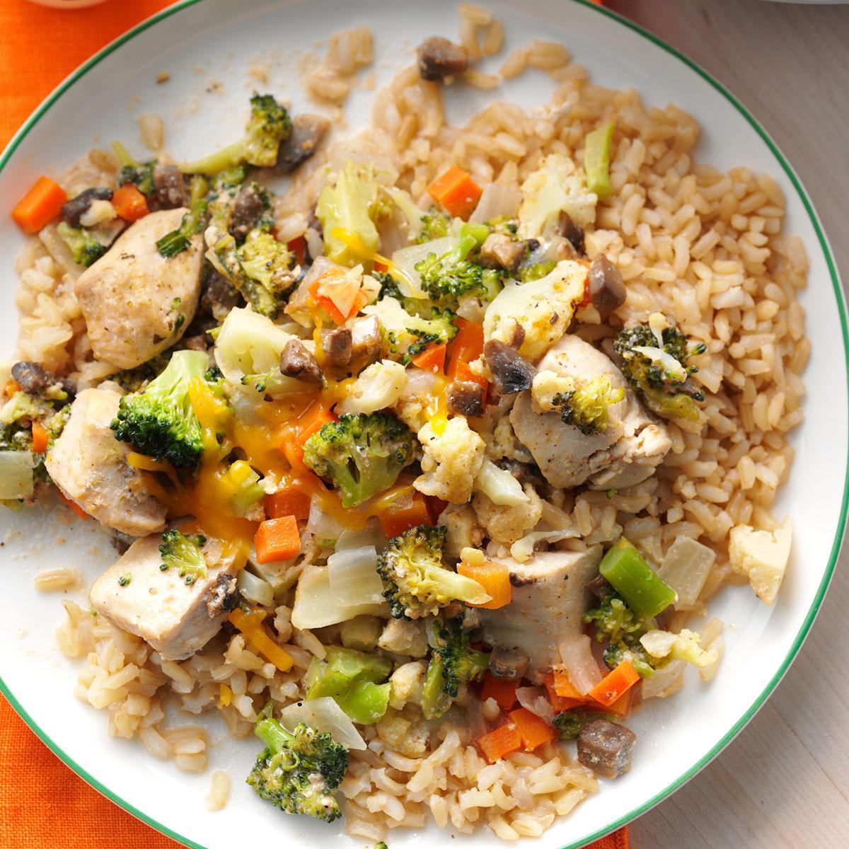Chicken Broccoli Recipe  Broccoli Cauliflower Chicken Casserole Recipe
