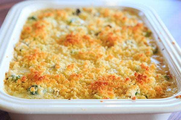 Chicken Broccoli Rice Casserole Recipe  Cheesy Chicken Broccoli & Rice Casserole From Scratch